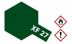 Tamiya XF27 - Schwarz-Grün - Matt