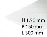 White Sheets - 1,50 x 150 x 300 mm (1 Pcs.)