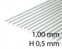 V-Groove Siding - V-Groove 1,00 mm / H 0,5 mm