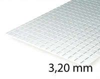 Square Tile Sheet 3,20 mm (1 Pcs.)