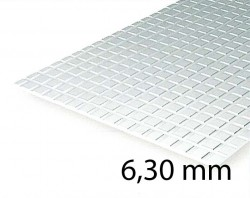 Square Tile Sheet 6,30 mm (1 Pcs.)