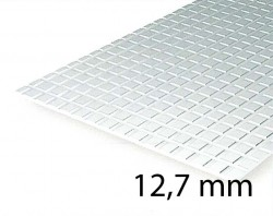 Square Tile Sheet 12,7 mm (1 Pcs.)