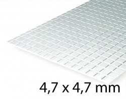 Sidewalk Sheet 4,7 x 4,7 mm (1 Pcs.)