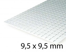 Sidewalk Sheet 9,5 x 9,5 mm (1 Pcs.)