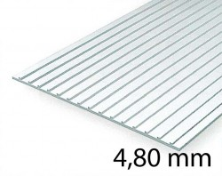 Metal Roof & Standing Seam Siding Sheet - 4,80 mm
