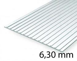 Metal Roof & Standing Seam Siding Sheet - 6,30 mm