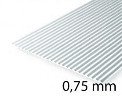Metal Roof & Corrugated Metal Siding Sheet - 0,75 mm
