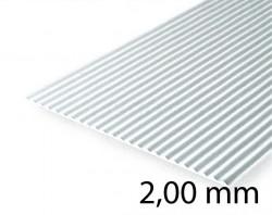Metal Roof & Corrugated Metal Siding Sheet - 2,00 mm