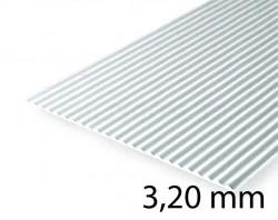 Metall-Dach & Wellblech Verkleidung - 3,20 mm