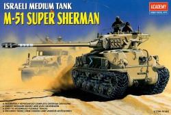 Israeli Medium Tank M-51 Super Sherman - 1/35