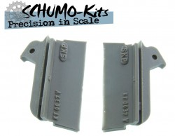 Rearboard side parts for the 1/16 Tamiya King TIger