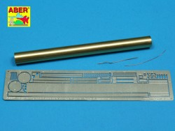 Clean rod and spare aerial stowage for Panther and Jagdpanther