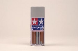 Tamiya Surface Primer L for Plastic & Metal - Grey - 180ml