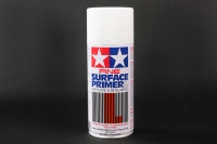 Tamiya Fine Surface Primer L for Plastic & Metal - White - 180ml