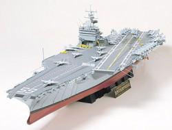 US Aircraft Carrier CVN-65 - USS Enterprise - US Navy Flugzeugträger - 1:350