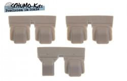 Periscope Covers for KV, welded, 1:16 scale