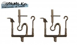 Turnbuckle and clamp for tow cable KV-1 / KV-2