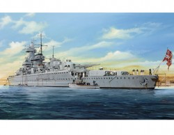 German Pocket Battleship Admiral Graf Spee - 1/350