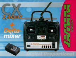 CX 2,4 GHz + Delta Mixer, 4 Kanal - Tank & Truck Edition