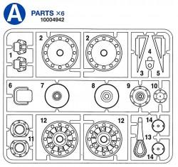 A Teile (A1-A11) für Tamiya KV-1 / KV-2 (56028, 56030) 1:16