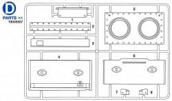 D Teile (D1-D8) für Tamiya KV-1 / KV-2 (56028, 56030) 1:16