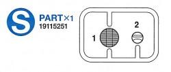 S Teile (S1-S2) für Tamiya KV-1 / KV-2 (56028, 56030) 1:16