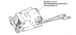 Gearbox Unit A (left) for Tamiya KV-1 / KV-2 (56028, 56030) 1:16