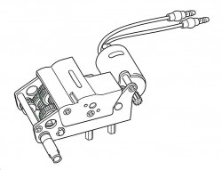 Gearbox Unit B (right) for Tamiya KV-1 / KV-2 (56028, 56030) 1:16