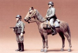 German mounted Infantry - 1/35