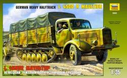 Schweres Halbkettenfahrzeug L4500R