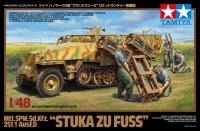 Stuka zu Fuss - Sd.Kfz. 251/1 Ausf. D Mtl. SPW. - 1:48