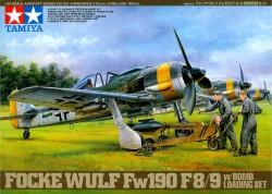 Focke-Wulf Fw190 F-8/9 with Bomb Loading Set - 1/48