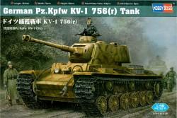 Deutscher Beutepanzer KV-1 Pz.Kpfw. 756 (r)