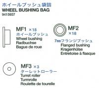 Wheel bushing bag (MF1-MF3) for Tamiya King Tiger (56018)
