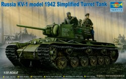 KV-1 Model 1942 - Simplified Turret - 1/35