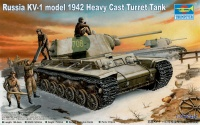 KV-1 Model 1942 with Heavy Cast Turret - 1/35