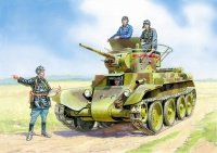 Soviet Light Tank BT-7 with Crew - 1/35
