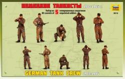 Deutsche Panzerbesatzung - Wehrmacht 1943 - 1945 - 1:35