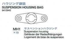 Suspension housing bag (MH1 x18) for Tamiya King Tiger (56018)