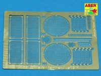Grills for Panther Ausf. G/F - Italeri and Tamiya