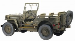U.S. 1/4 Ton 4x4 Truck - Willys MB
