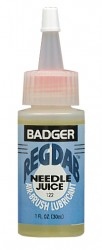 Badger REGDAB lubricant for airbrush needles.
