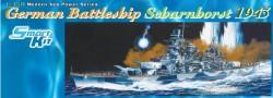 Deutsches Schlachtschiff Scharnhorst - 1943 - 1:350