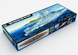 USS Arizona BB-39 Battleship - 1:200