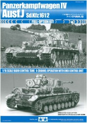 Instructions for Tamiya Panzer IV Ausf. J (56026) 1:16