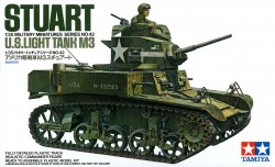M3 Stuart - US Light Tank - 1:35