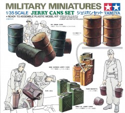 Jerry Cans Set - Diorama Accessories - 1/35