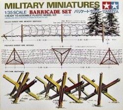 Panzer und Infanterie Barrikaden - 1:35