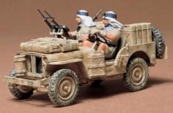 Britischer SAS Jeep