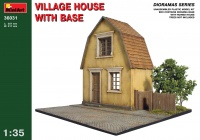Village House with Base - 1/35